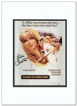 Julie Christie Autograph Signed Photo - Far From The Madding Crowd